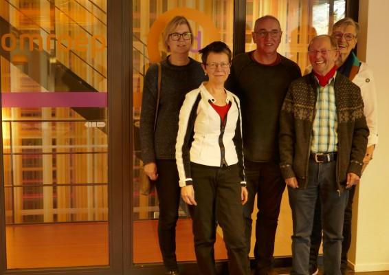 Radio Gelderland helpt ons met publiciteit!